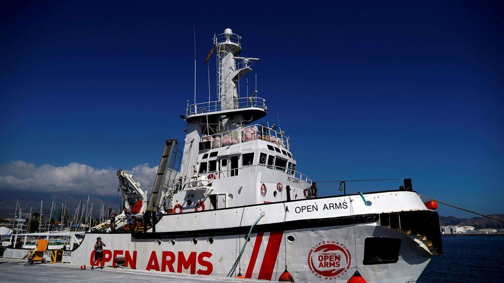 Foto: Imagen de archivo de un buque de la ONG Proactiva Open Arms. (Reuters)