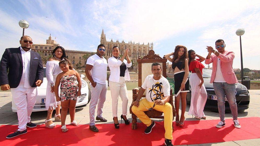 Foto: Los Fernánde-Navarro en la tercera temporada de 'Los Gipsy Kings'.
