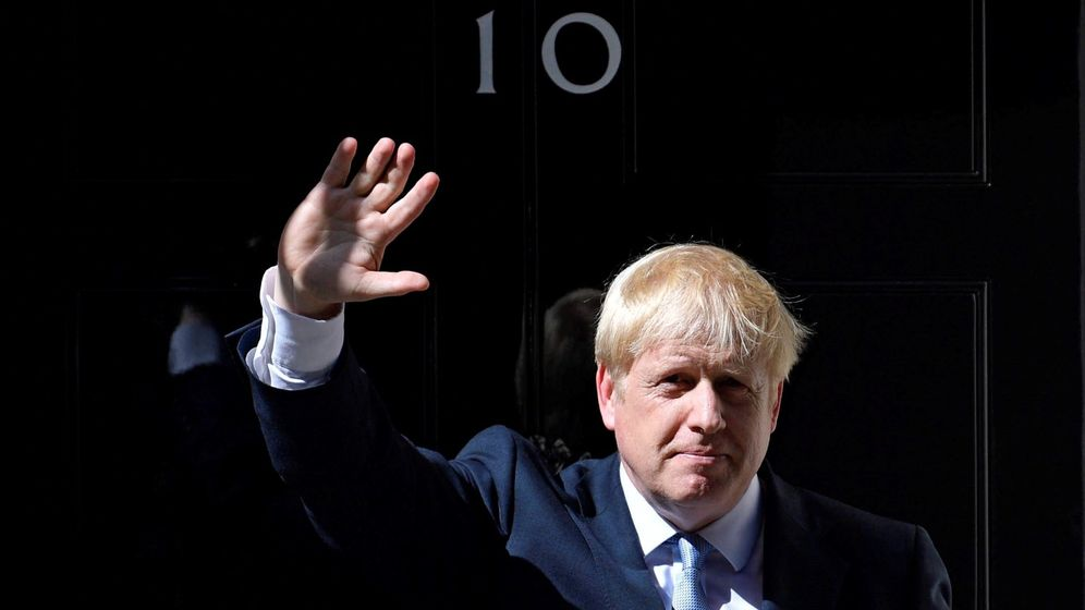 Foto: El primer ministro británico, Boris Johnson, en el 10 de Downing Street. (Reuters)