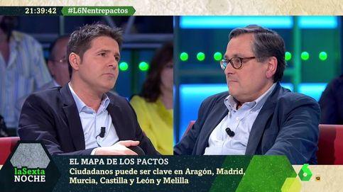 Tensión entre Marhuenda y Jesús Cintora: La izquierda está desesperada