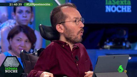Echenique critica a La Sexta : Llevan a Rufián para hacer criticar a Podemos
