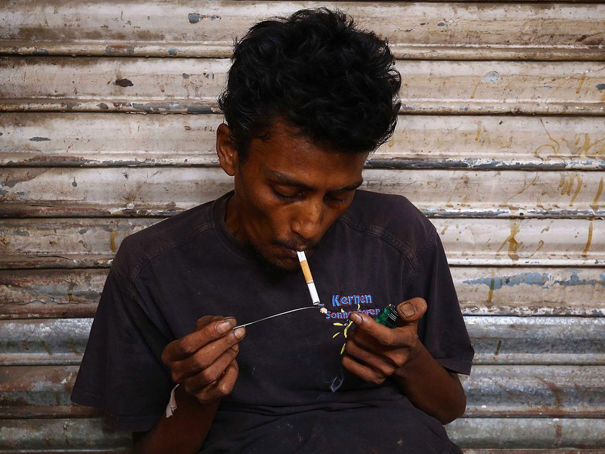 Foto: El consumo de heroina puede afectar a la salud auditiva. Foto: EFE EPA SHAHZAIB AKBER