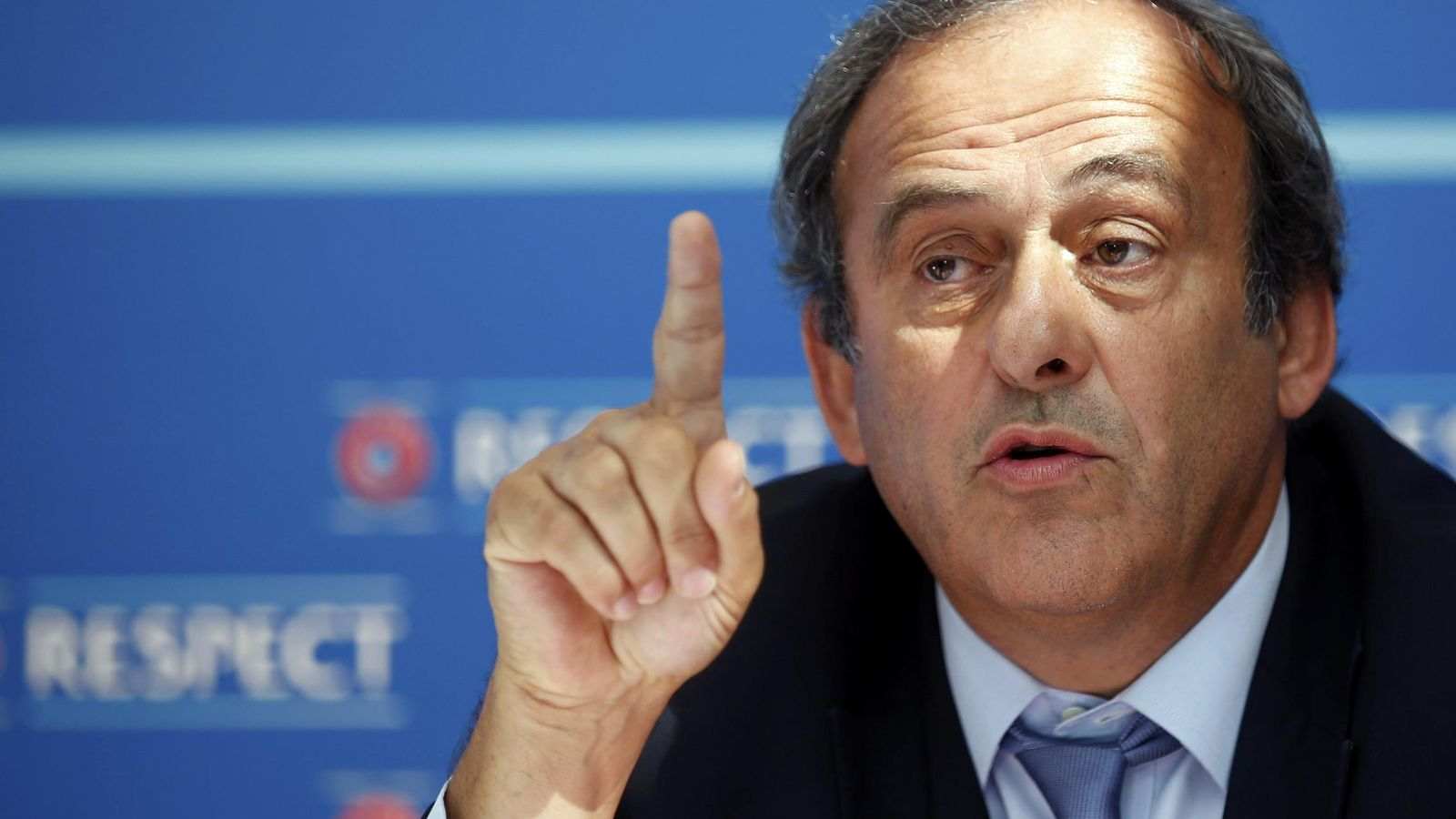 Foto: Michel Platini no podrá presentarse a la presidencia de la FIFA (Reuters).