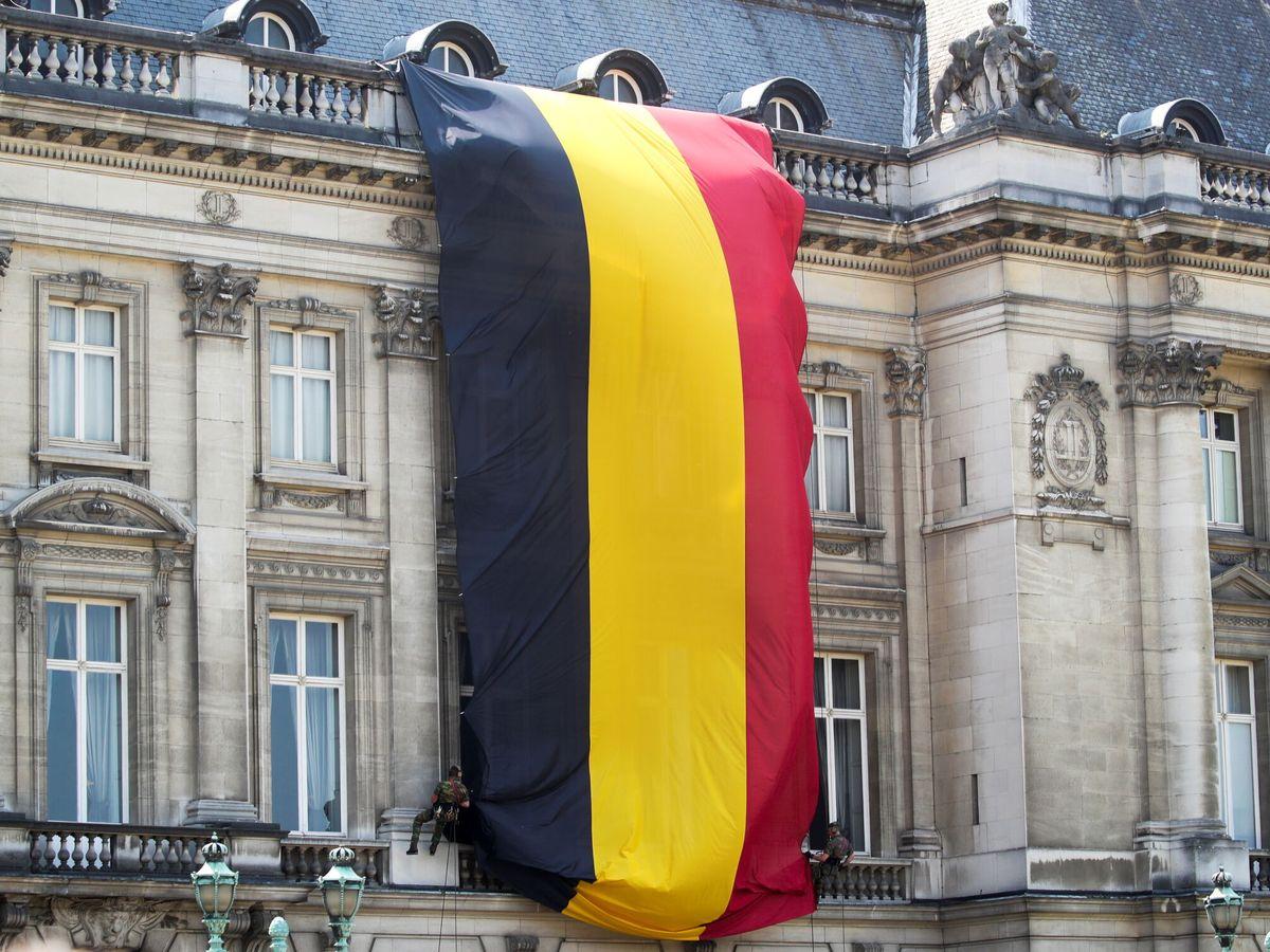 Foto: Celebración del día nacional de Bélgica en Bruselas. (Reuters)