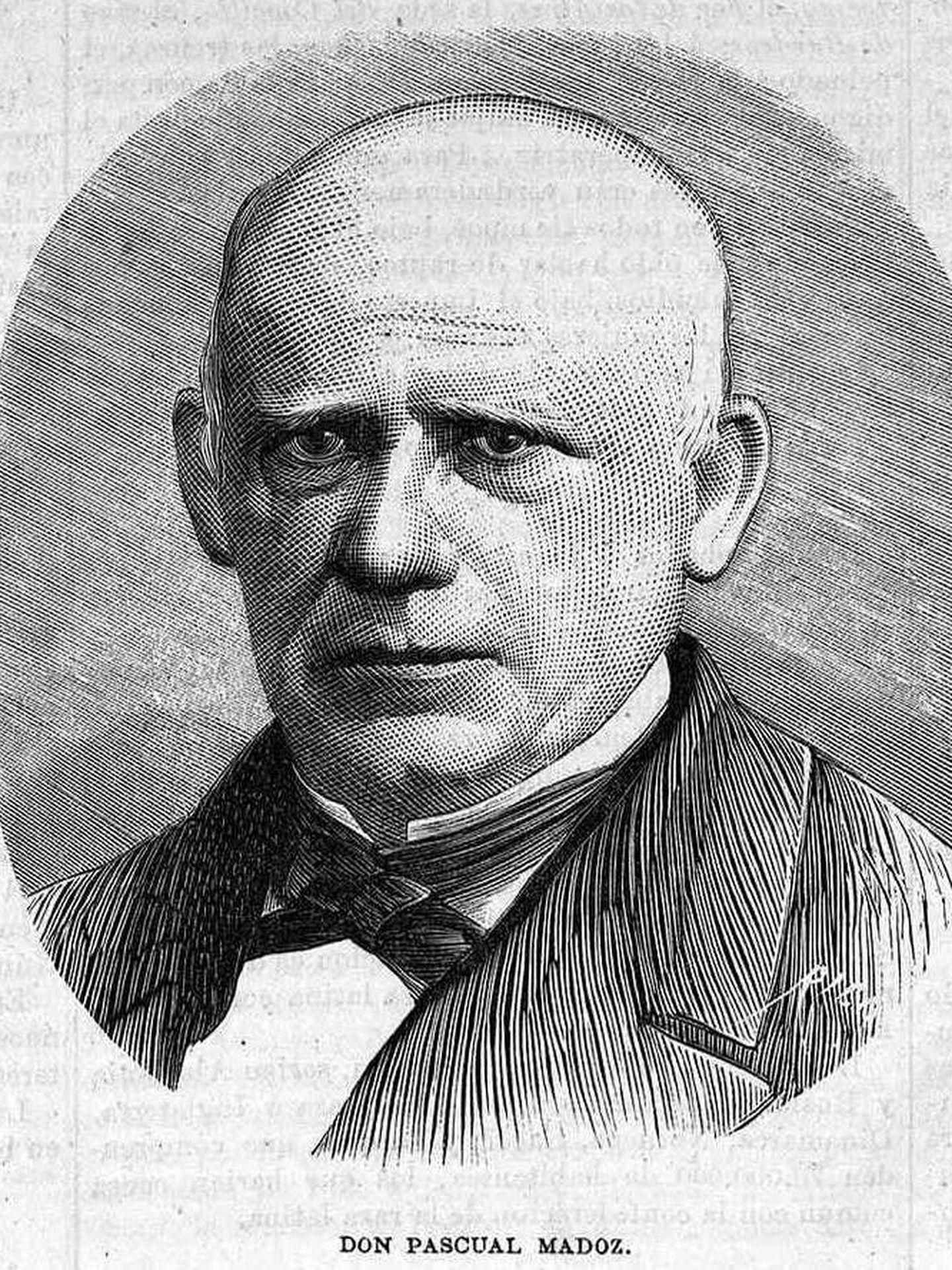 Pascual Madoz. Foto: Wikipedia