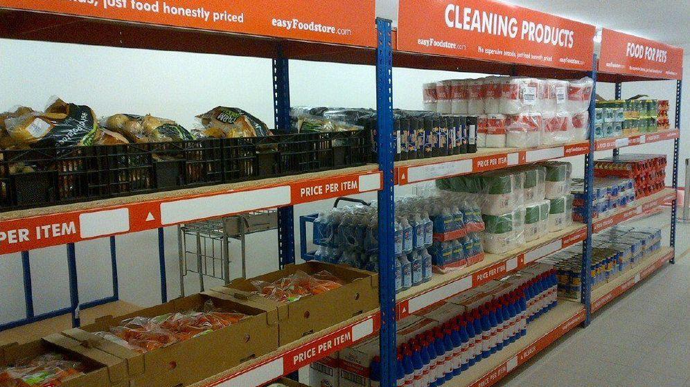 Foto: Un pasillo de la tienda piloto de easyFoodstore. (easyFoodstore)