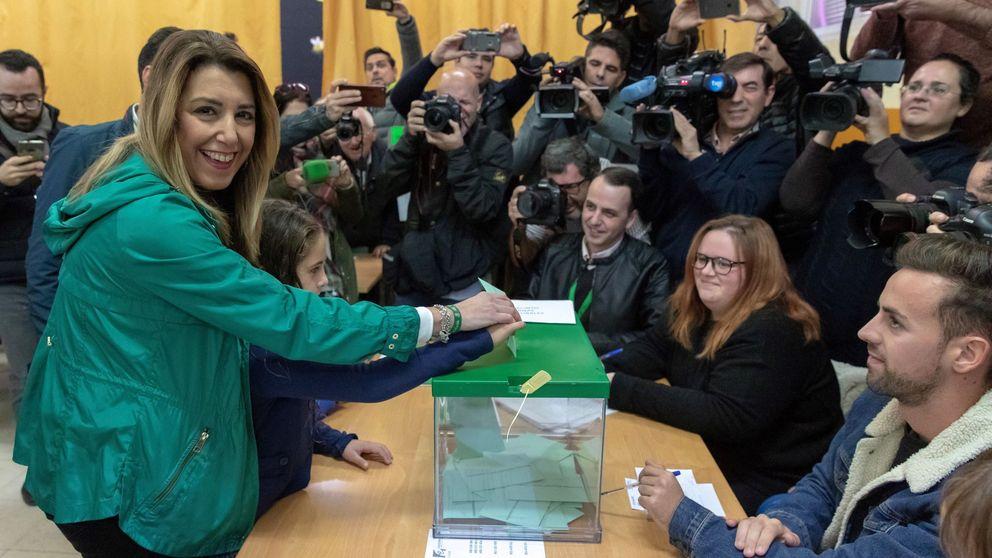 Así han increpado a Susana Díaz: Se te acaba el chollo; de aquí, al paro
