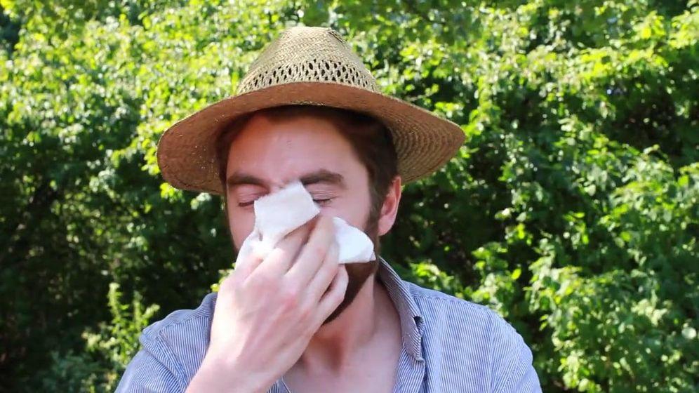 Foto: Picores, enrojecimientos y estornudos son síntomas habituales. (Vimeo)