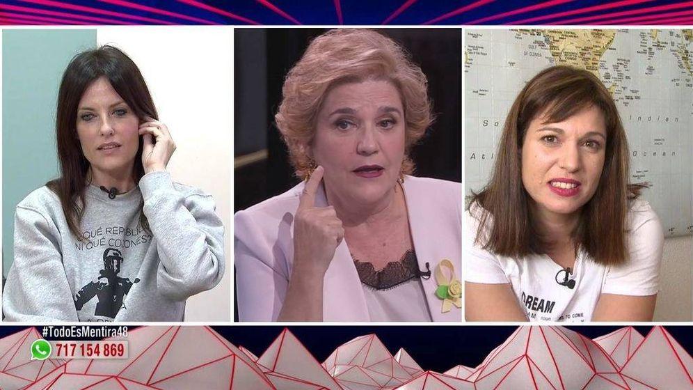 Foto: Cristina Segui, Pilar Rahola y Beatriz Talegón.