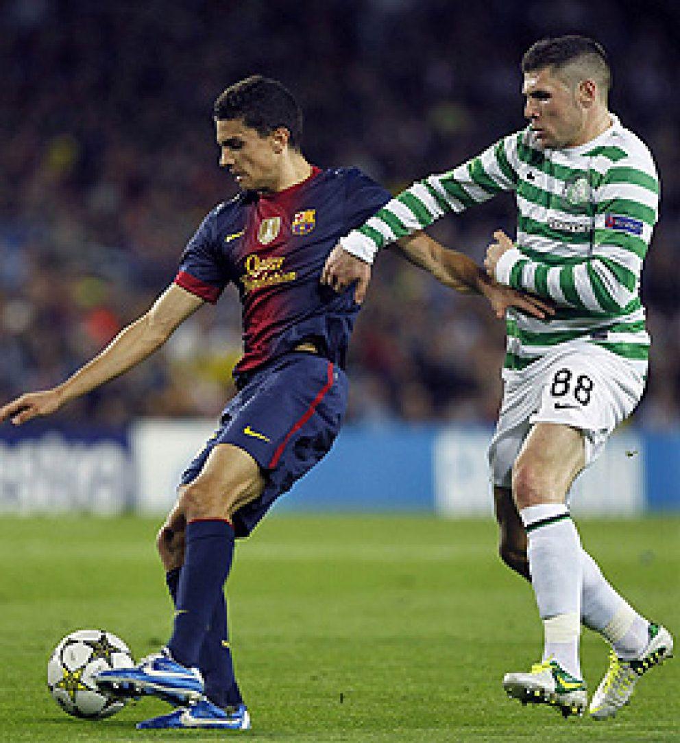 Foto: Y Tito Vilanova tiró de lógica: Bartra fue titular y Song jugó de medio
