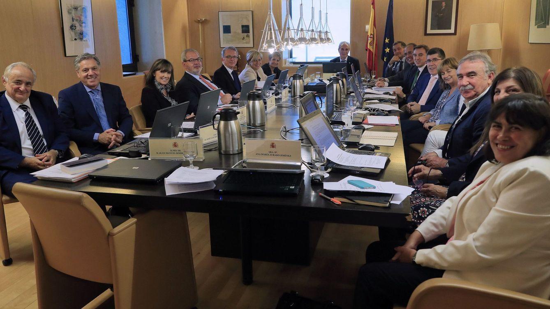 Foto: Reunión de la Junta Electoral Central el pasado septiembre. (EFE)