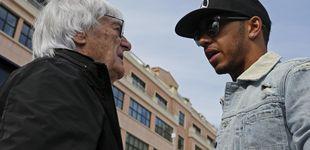 Post de Bernie Ecclestone, el bocazas de la Fórmula 1 y el bofetón que recibió de Hamilton