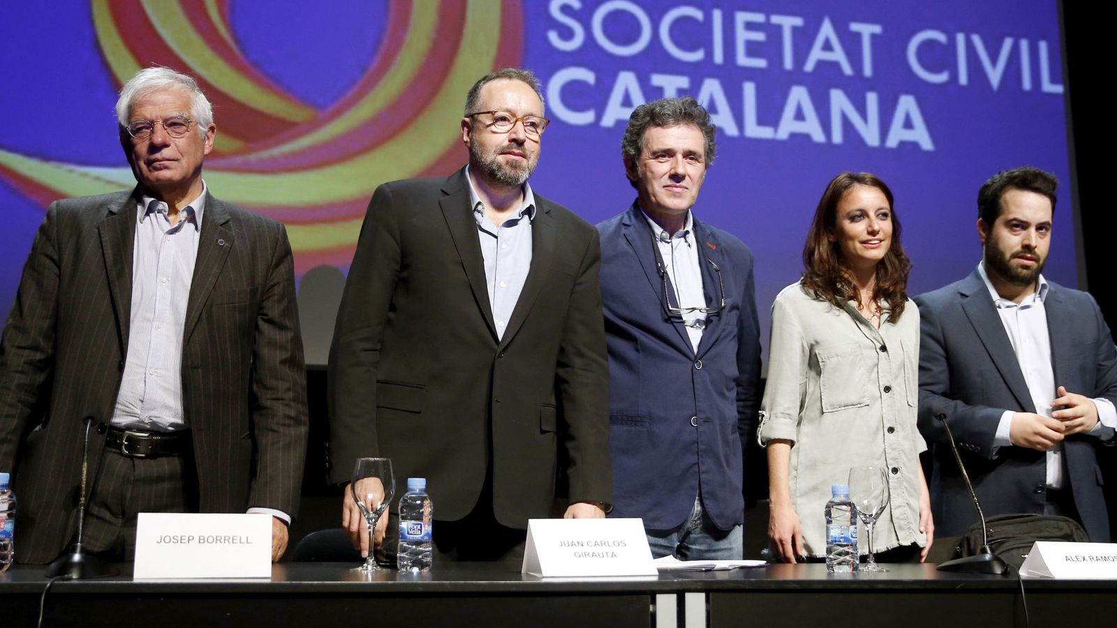 Foto: Acto de Sociedad Civil Catalana en Madrid en 2017. (EFE)