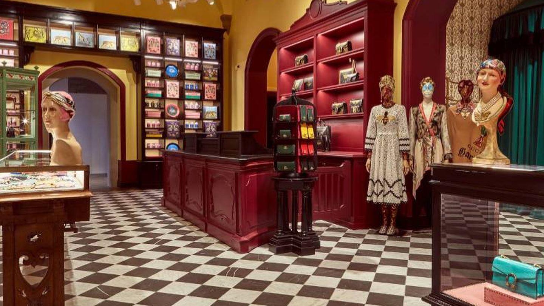 La boutique de Gucci Garden. (Foto: Gucci)