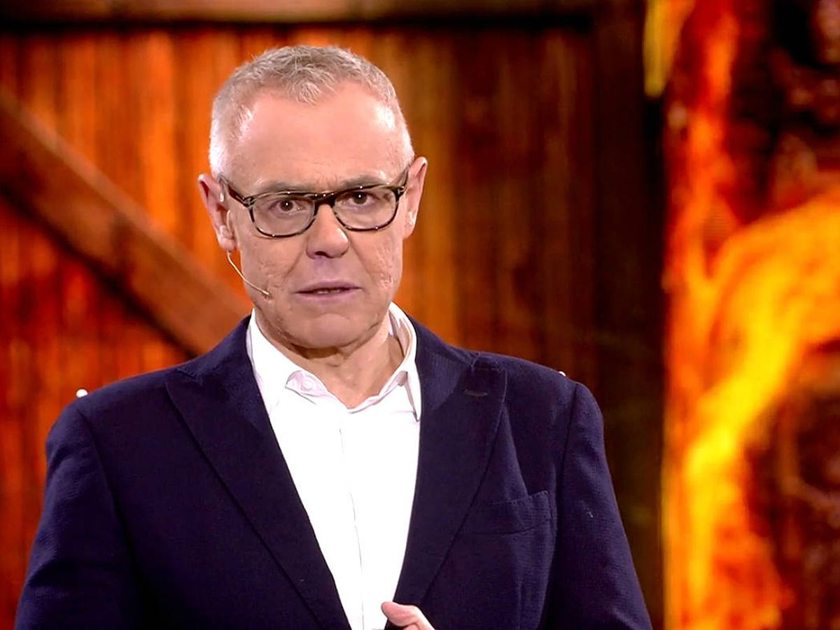 Foto: El presentador Jordi González. (Mediaset)