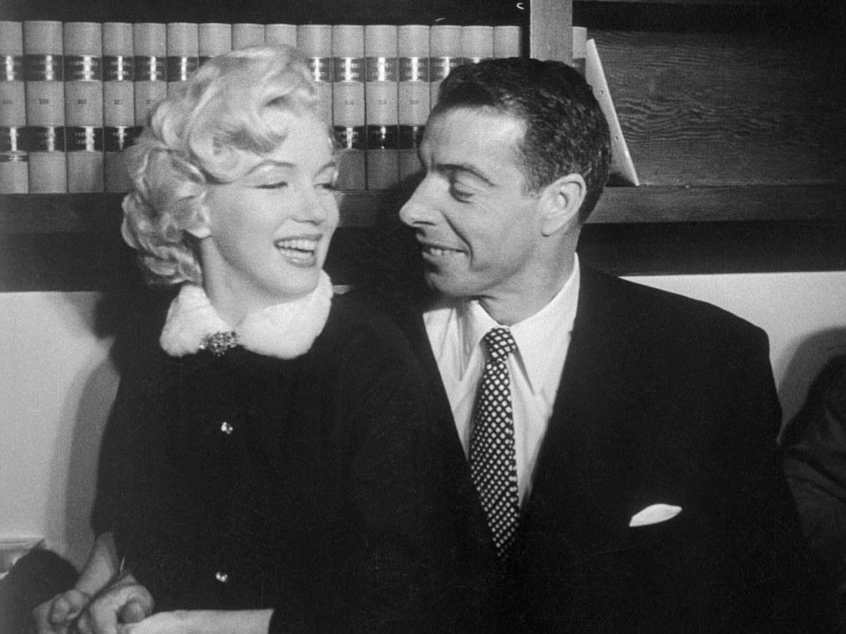 Foto: Joe DiMaggio y Marilyn Monroe, en 1954. (Foto de archivo)