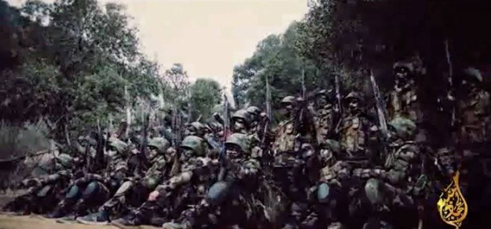 Foto: Captura de pantalla del vídeo de propaganda de la 'Unidad Roja'