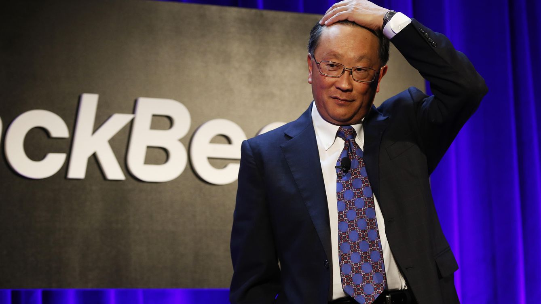 Foto: El consejero delegado de BlackBerry, John S. Chen. (Reuters)
