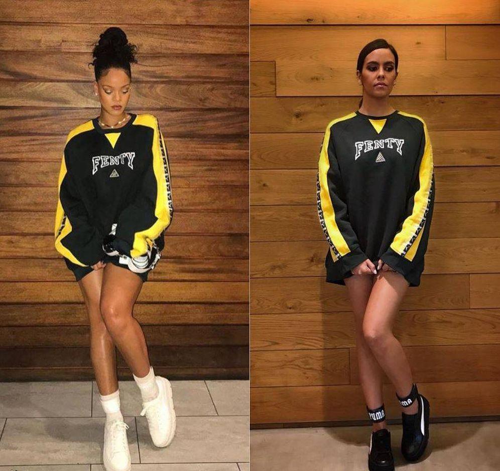 Foto: Rihanna vs. Pedroche. (Instagram)