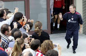 Clemente contará con toda la plantilla del Athletic para su debut en el banquillo