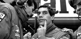 Post de El coche fantasma de Ayrton Senna y su desconocida y tapada hazaña