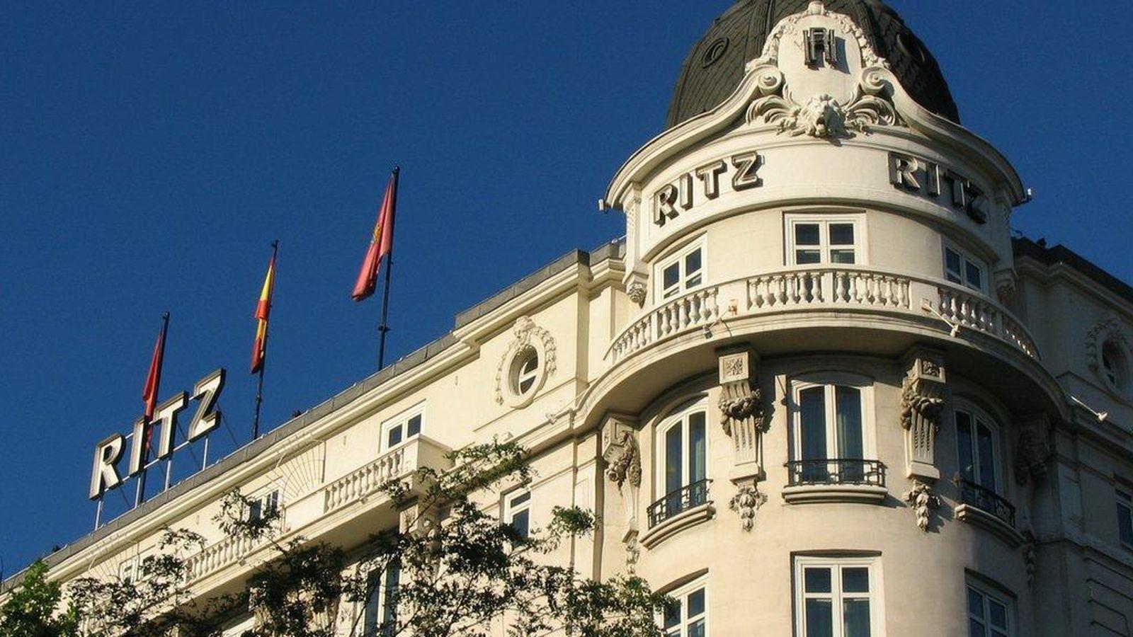 Foto: Hotel Ritz de Madrid.