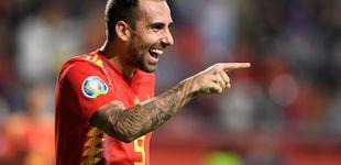 Post de Paco Alcácer, un goleador de élite que la Selección utiliza con cuentagotas