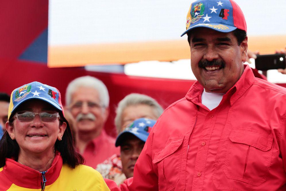 Foto: El presidente venezolano, Nicolás Maduro, anuncia su salida de la OEA. (EFE)