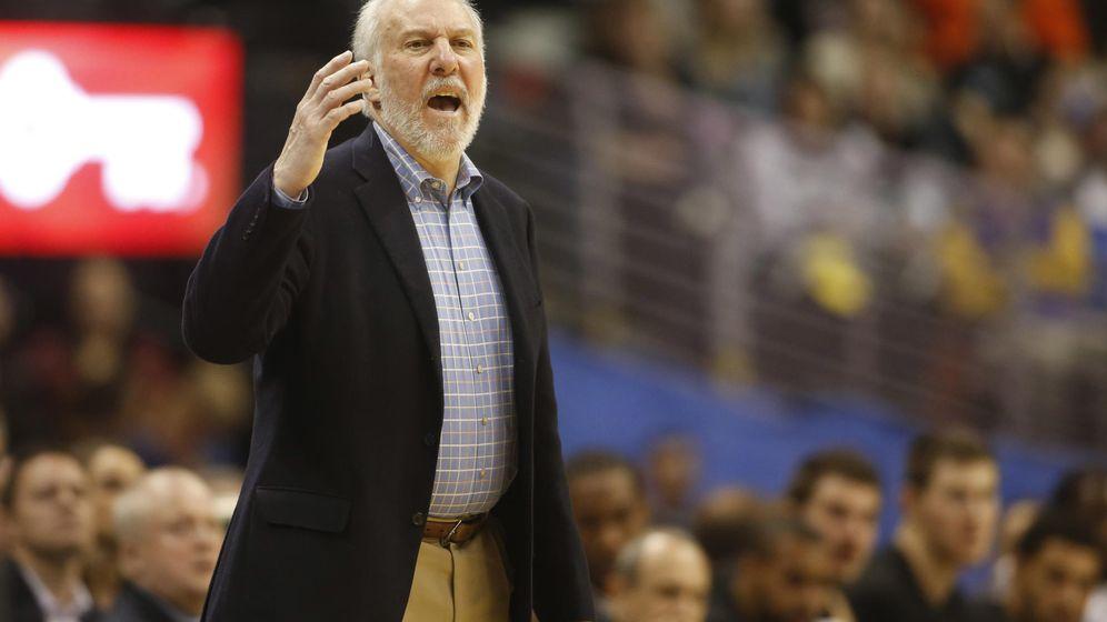 Foto: Popovich afronta su 20ª temporada seguida al frente de los Spurs (Reuters)