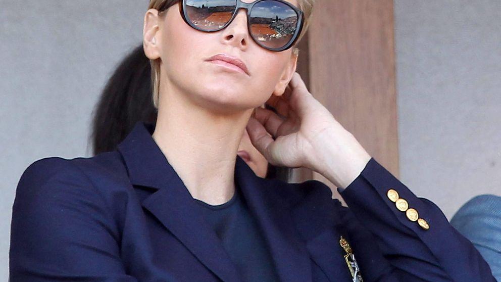La princesa Charlène reaparece en Mónaco... pero sin Alberto