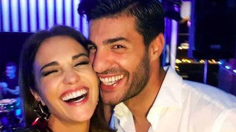 Paula Echevarría, radiante en la fiesta de cumpleaños de Miguel Torres