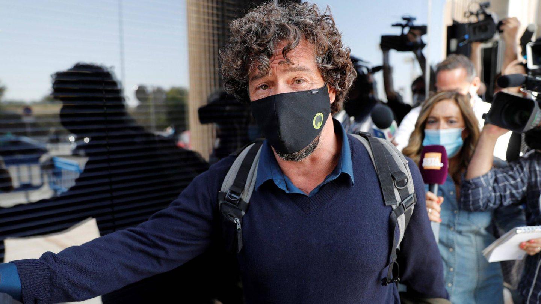 Nacho Palau, llegando a los juzgados. (EFE)