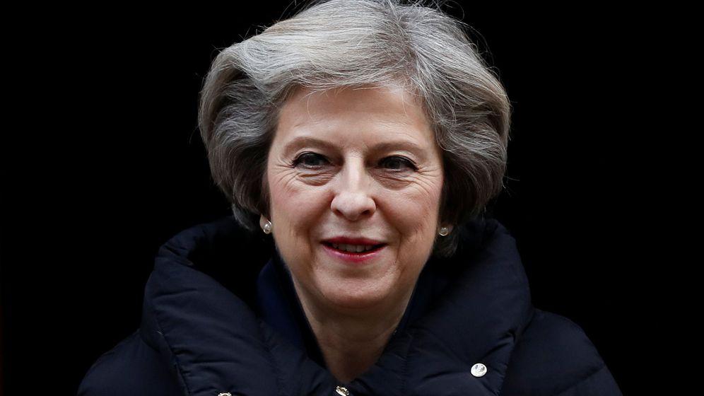 Foto: La primera ministra británica, Theresa May (Reuters)