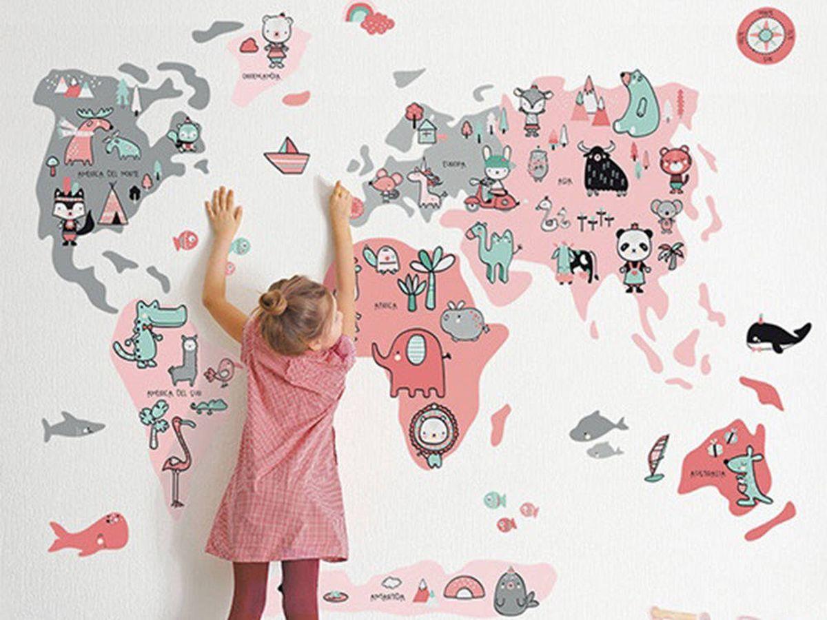 Foto: Adhesivos y vinilos para decorar con estilo y alegría dormitorios infantiles