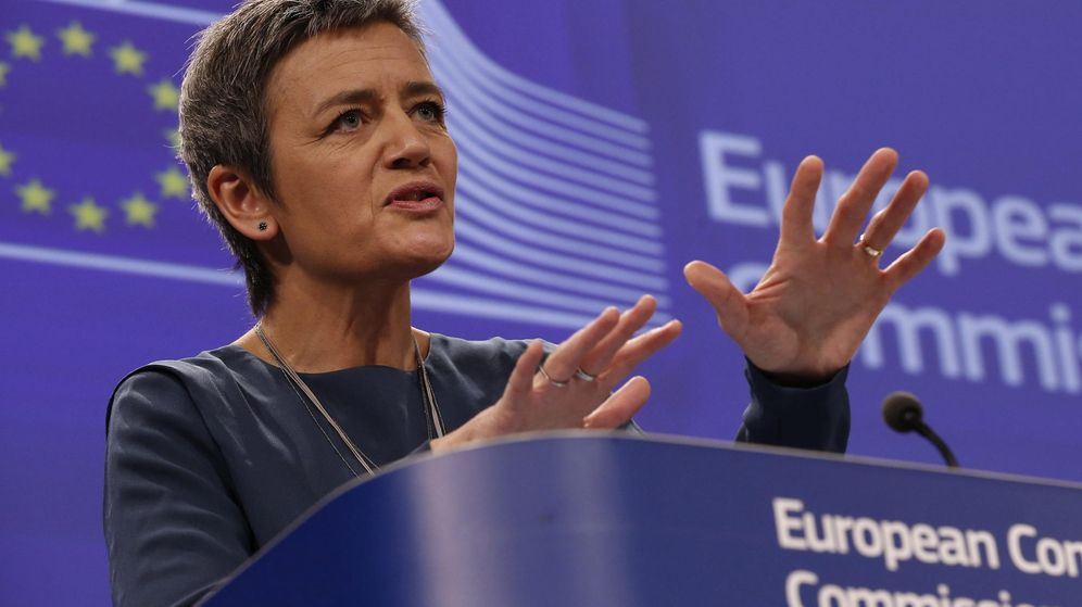 Foto: La comisaria europea de Competencia, Margrethe Vestager. (EFE)