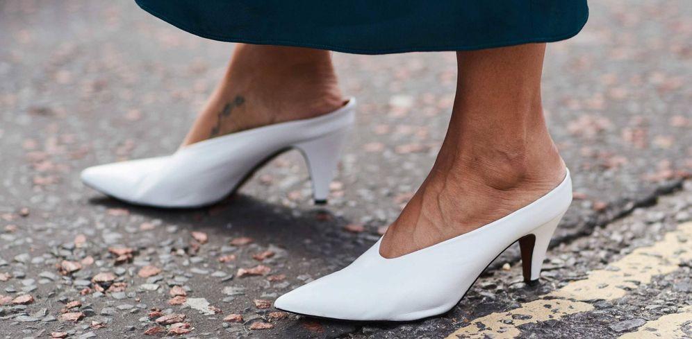 El Sin Tendencias Zapatos Talón Destape Mules Y ¡comienza awxxYAt8fq
