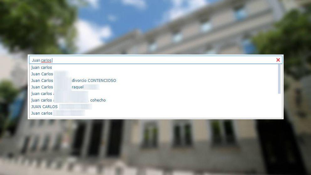 Un grave fallo en la web del CGPJ deja al descubierto datos personales de sentencias