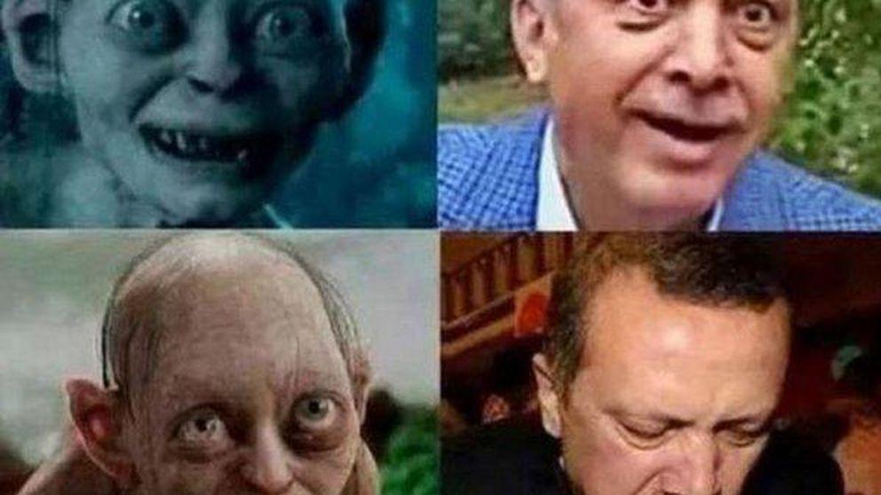 Un médico turco, juzgado por un tuit comparando a Erdogan con Gollum