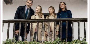 Post de El debut de Leonor, protagonista de la felicitación de Navidad de los Reyes