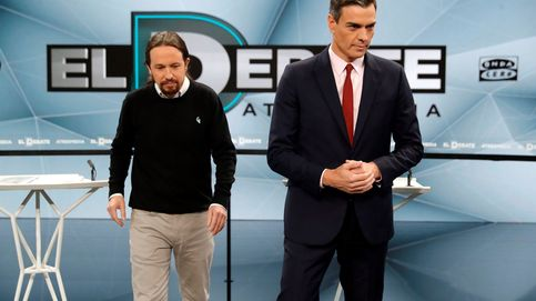 Podemos fía su campaña a los debates y se lanza a devolver los golpes de Sánchez
