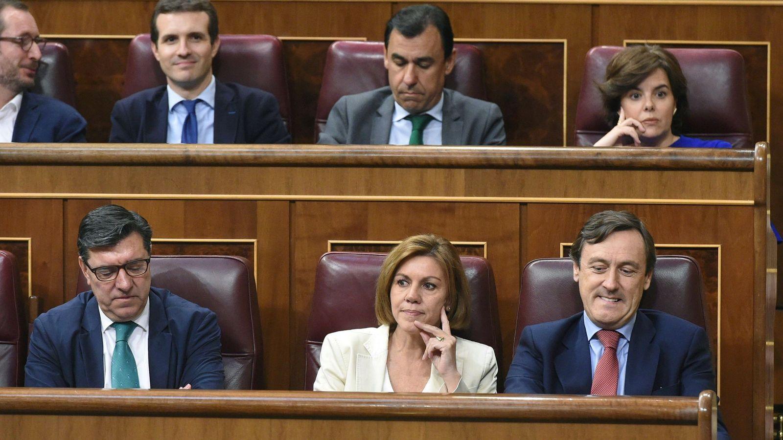 Foto: Bancada del Partido Popular en el Congreso. (EFE)