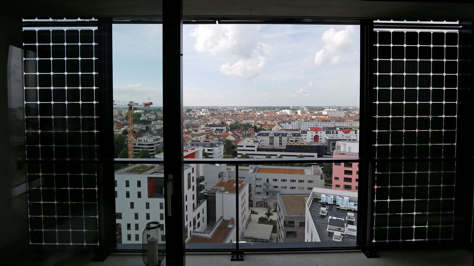 Foto: Vista de un apartamento en Estrasburgo, en junio de 2018. (Reuters)