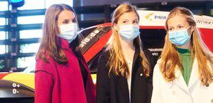 Post de El abrigo de Marcos Luengo con el que la reina Letizia homenajea a Asturias