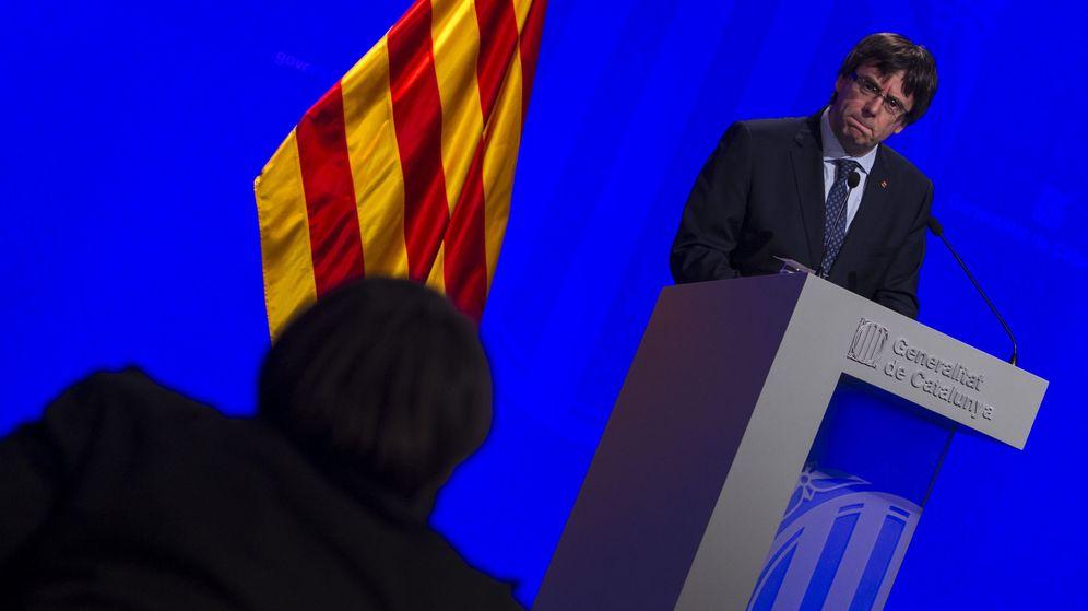 Foto: El presidente de la Generalitat de Catalunya, Carles Puigdemont. (EFE)