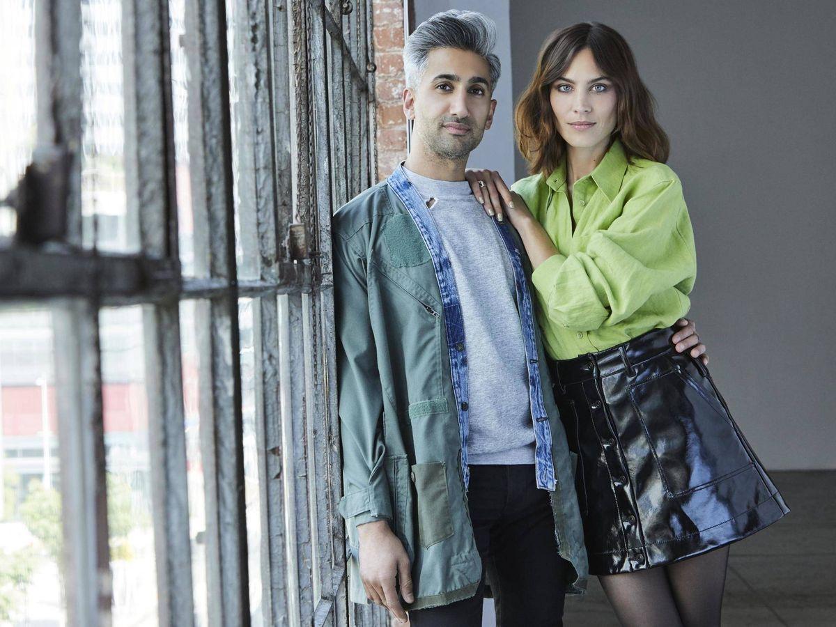 Foto: Tan France y Alexa Chung. (Next in Fashion)