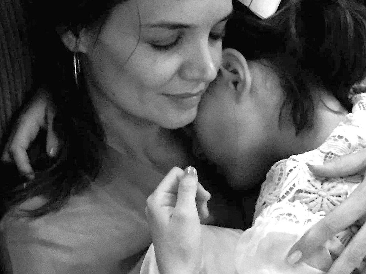 Foto:  Katie Holmes y su hija Suri. (Instagram @katieholmes)