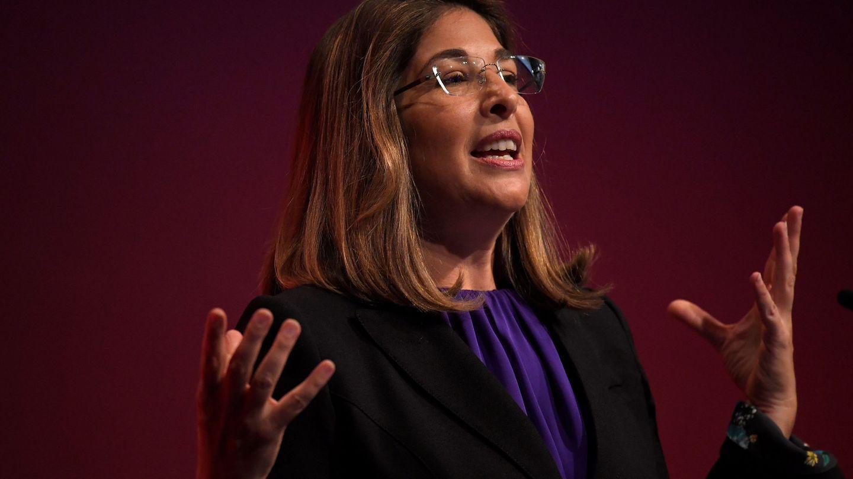 Naomi Klein en un acto del partido laborista británico. (Reuters)