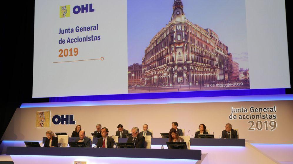 Foto: Junta general de accionistas de OHL, en Madrid. (EFE)