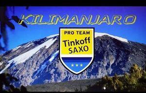 Contador también conquista el Kilimanjaro