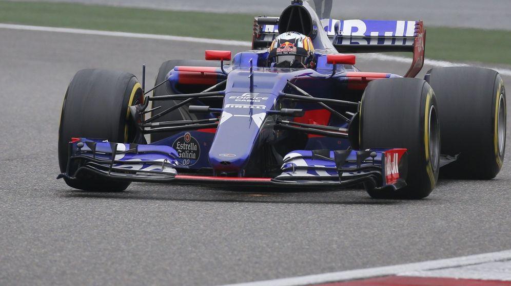Foto: Carlos Sainz, durante el GP de China. (Reuters)